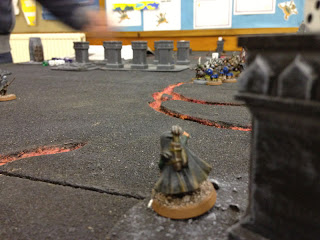 Hobbit SBG - Dwarf ranger spots the Moria Drummers