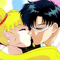 sailor moon and tuxedo mask story  And Tenoh Haruka. w...