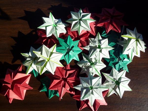 Sakacon Origami Christmas Garland