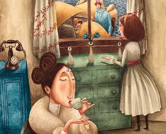 Ilustración de José Sanabria