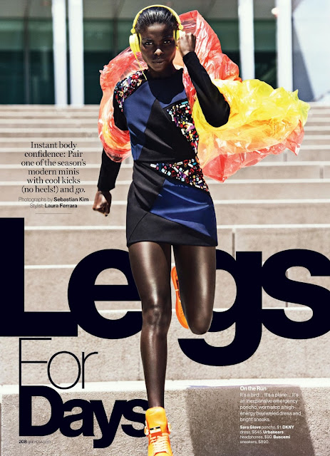 Fashion Model @ Jeneil Williams - Glamour USA, October 2015