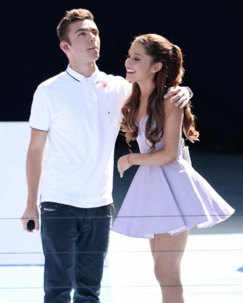 Ariana Grande y Nathan Sykes podrían hacer otra colaboración