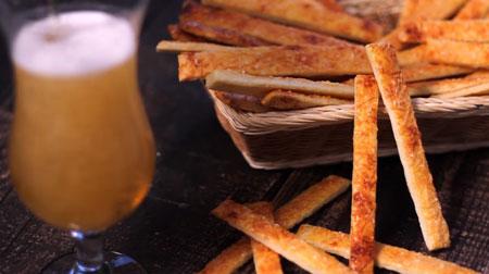 рецепт с фото сырные палочки к пиву