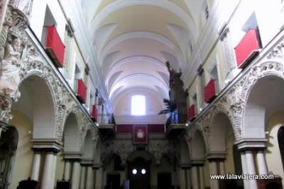 Decoracion Colonial Azteca Iglesia San Agustin, Marchena