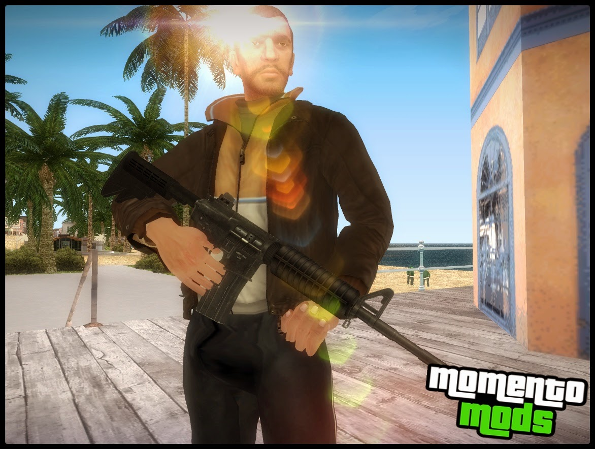 GTA SA - Armas Do GTA IV Para GTA San Andreas