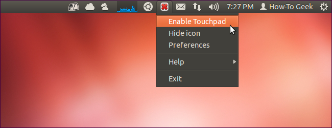 觸控板 Touchpad Indicator