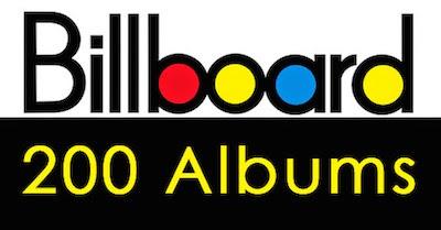 Billboard 200 chart image