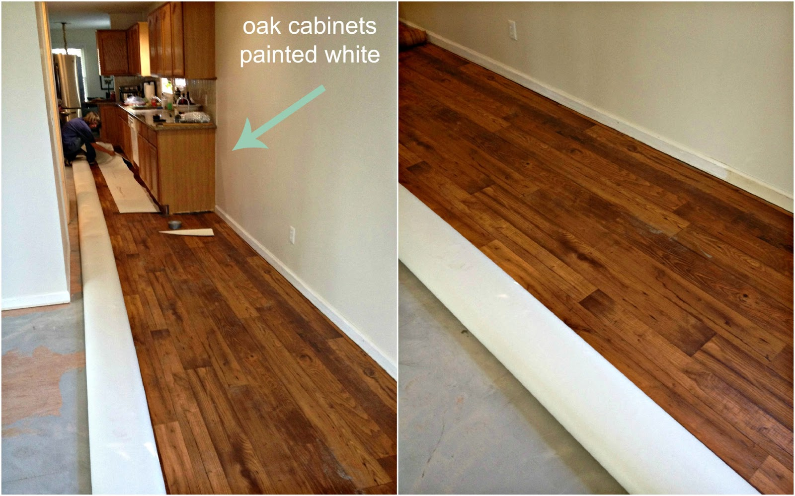 Vinyl look like wood flooring for Pvc wood flooring