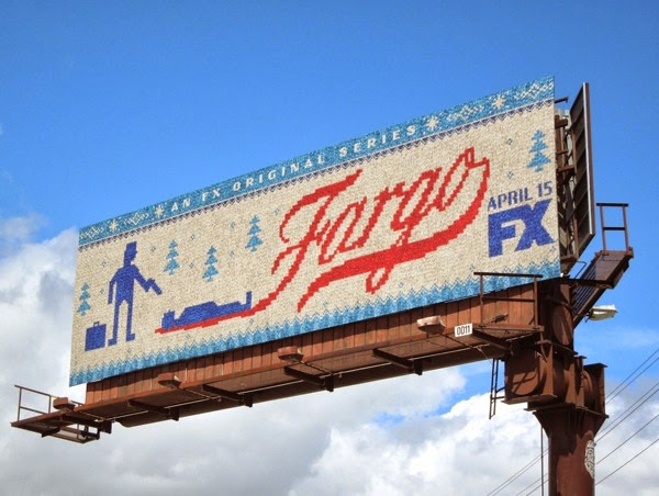Fargo TV remake billboard