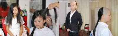 Unique Popular Hairstyle in China. Many Women in China Like This Trend