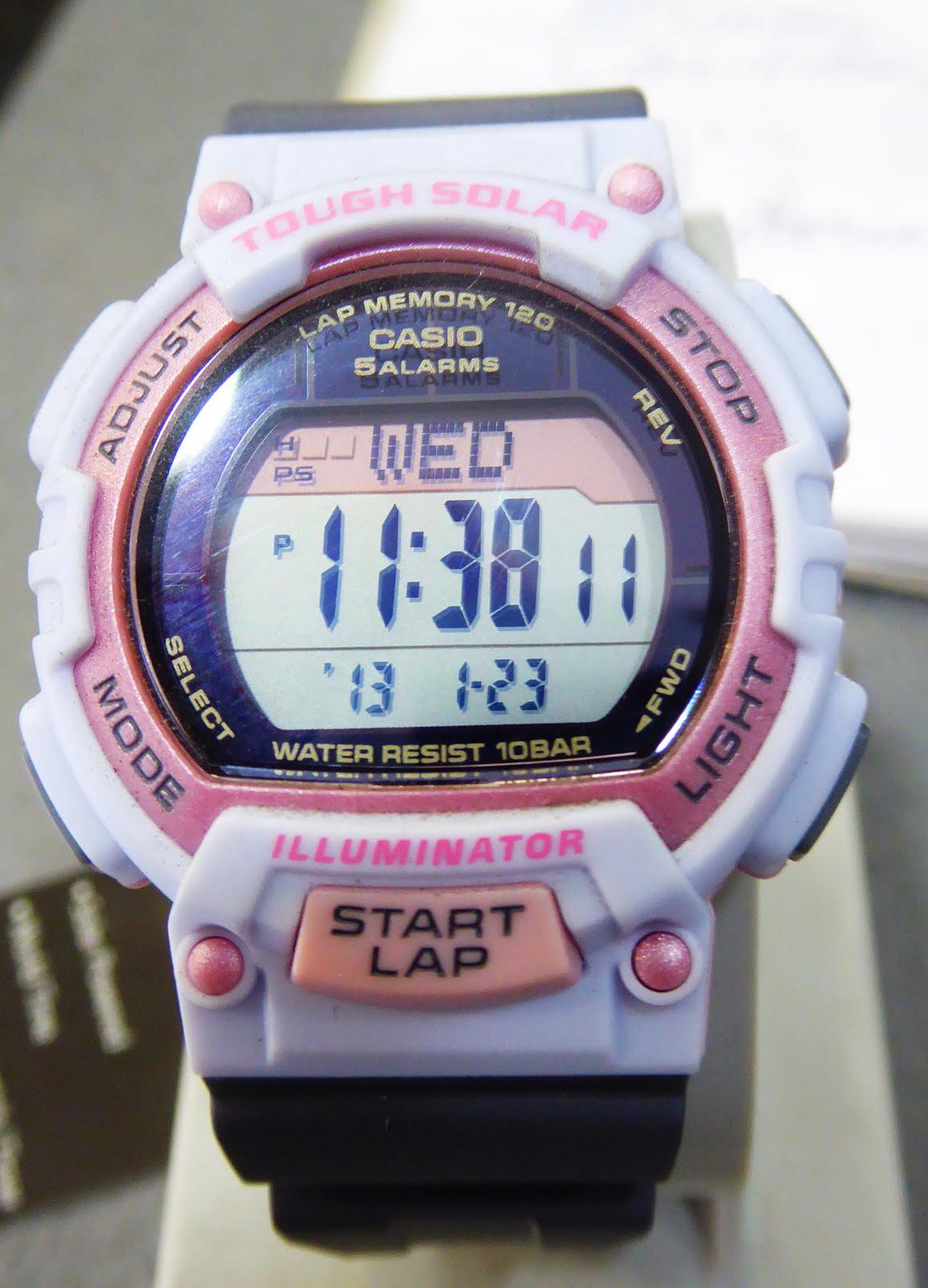 Reloj Casio para chica