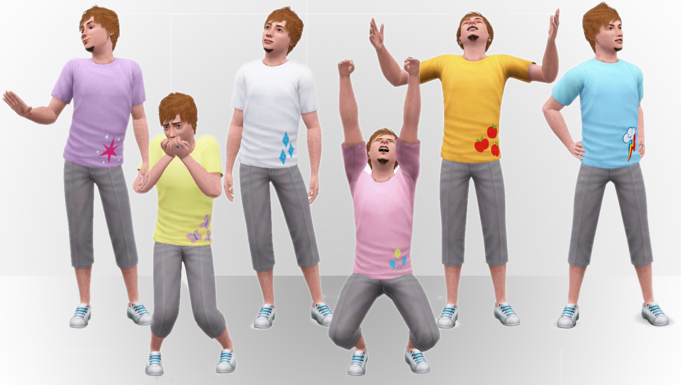 my sims 3 blog my little pony t shirts by omega