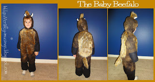 Baby Beefalo collage with front, back, and side views