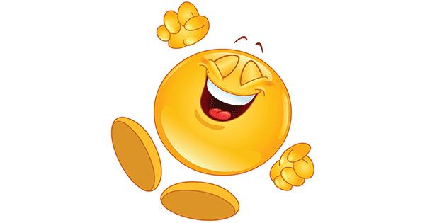 Cheerful Smiley Jumpin...