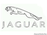 Mewarnai logo mobil Jaguar