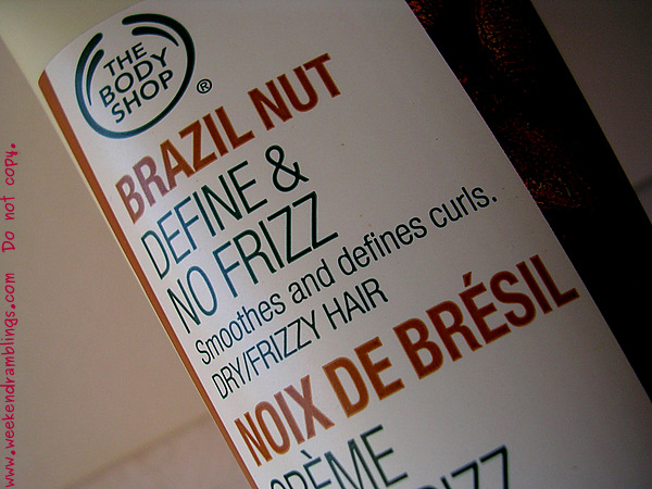 Haircare Skincare Makeup Beauty Blog TBS Brazil Nut Define and No Frizz Cream Reviews Ingredients
