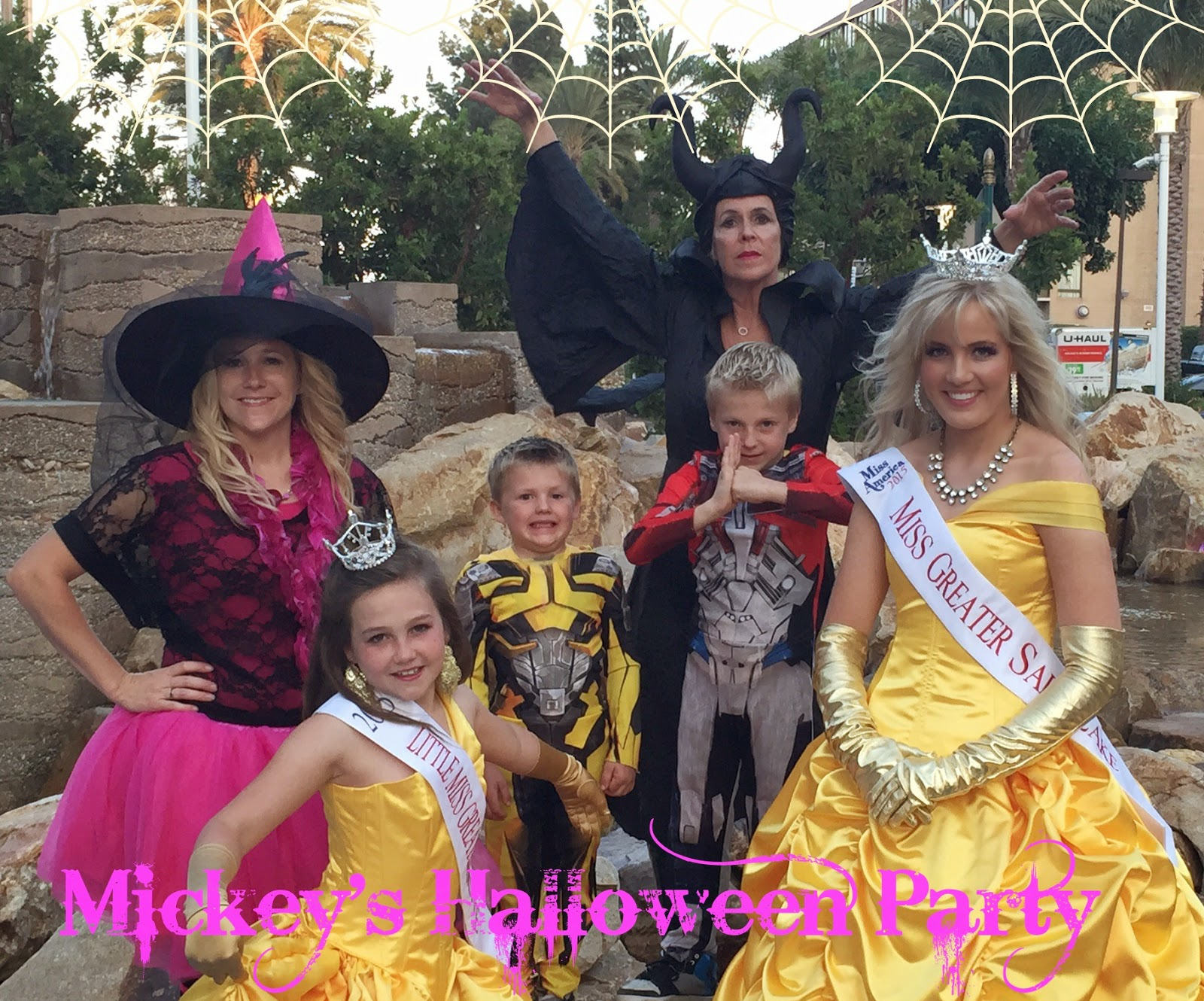 Disney Princesses at Mickey's Not So Scary Halloween Party ...