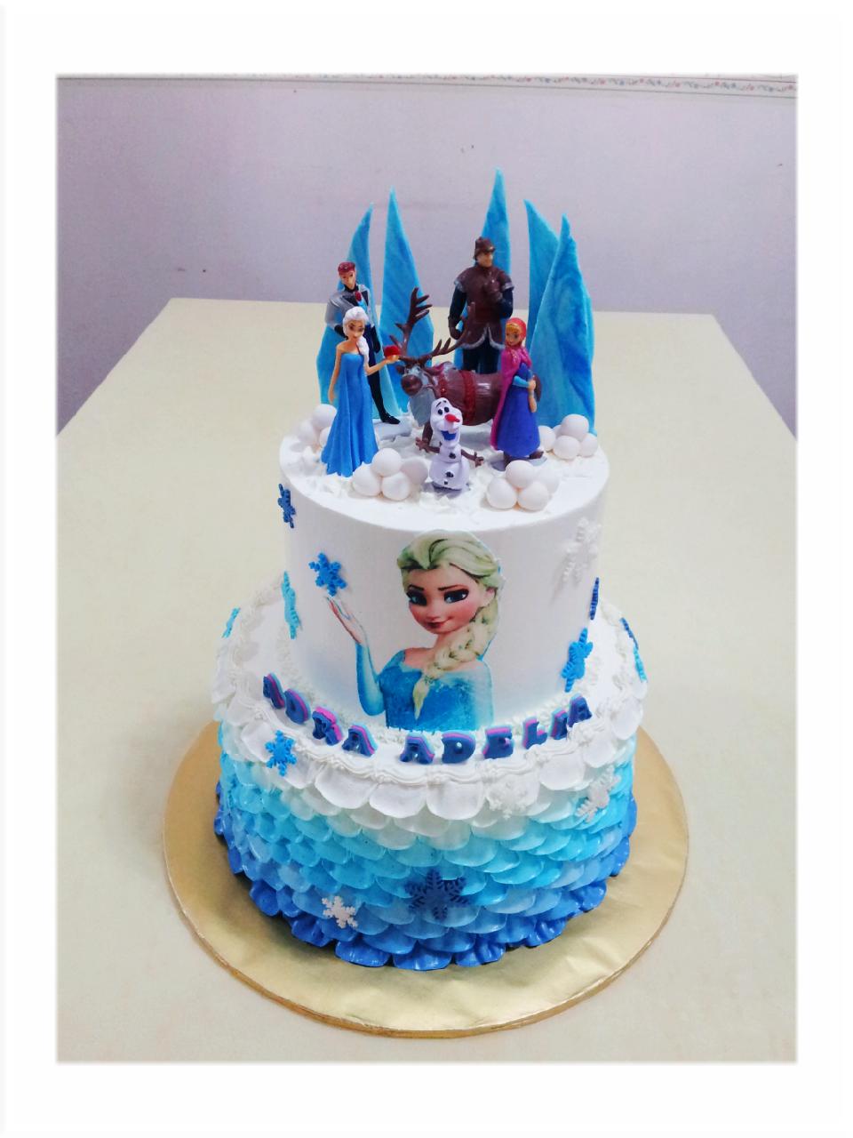 Cake Designs Of Frozen : MyPu3 Cake House: Frozen Cake