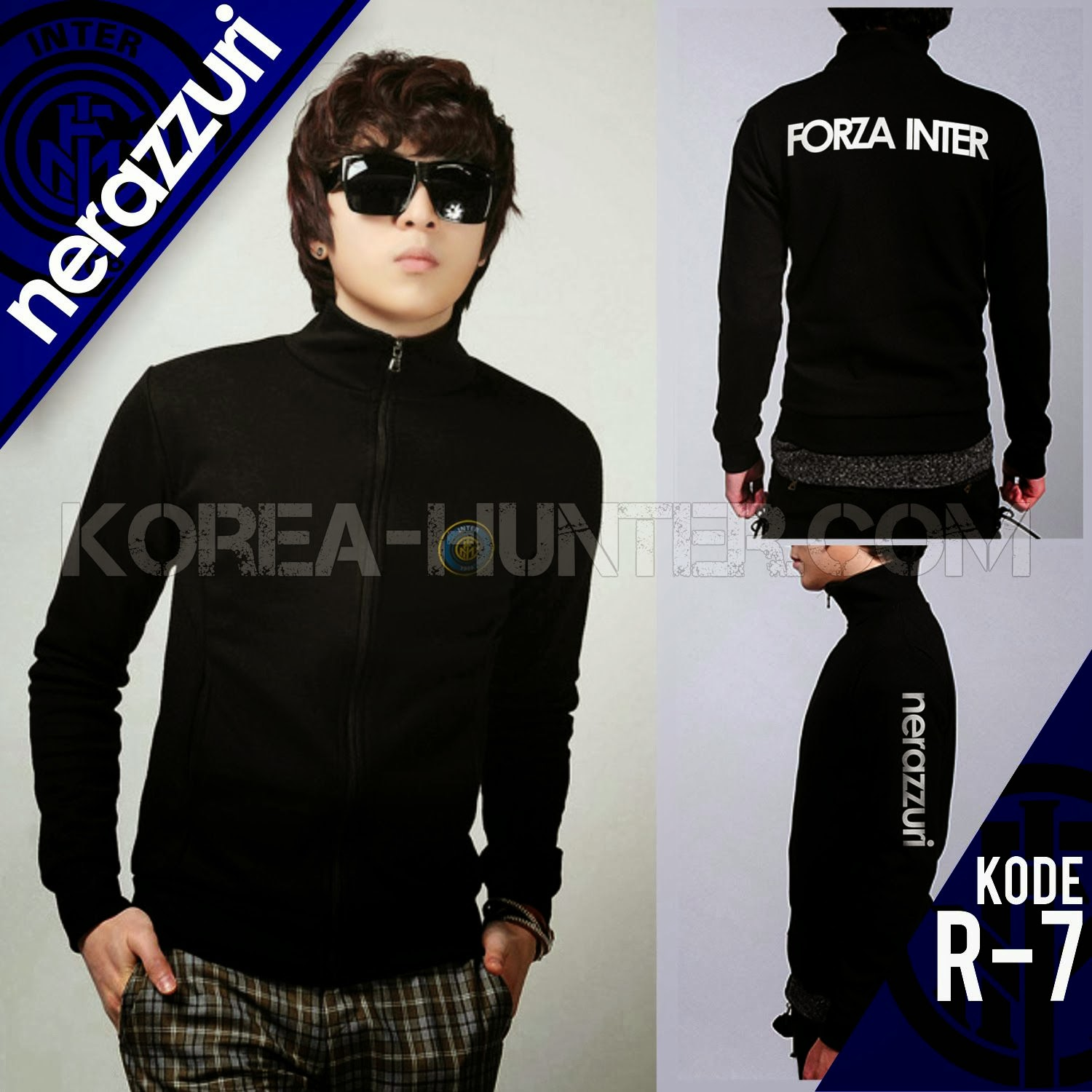 KOREA-HUNTER.com jual murah Soccer Club Jacket - Inter Milan | kaos crows zero tfoa | kemeja national geographic | tas denim korean style blazer