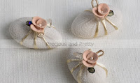 koufeta eith pink rose decoration