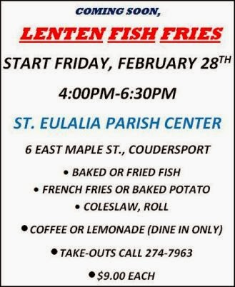3-14 Fish Fry At St. Eulalia
