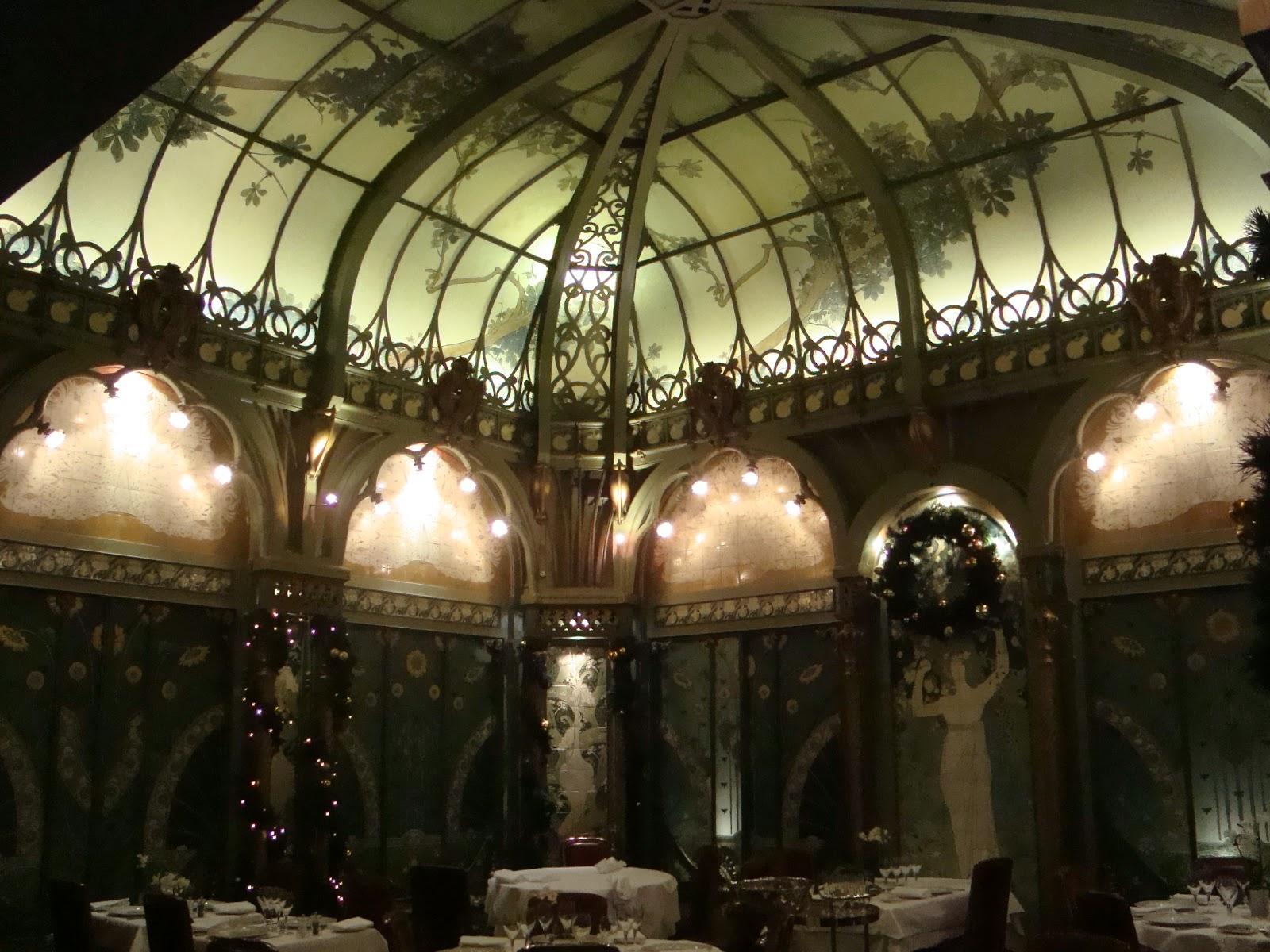 Paseos art nouveau un havre de paix la fermette marbeuf for Art nouveau interieur