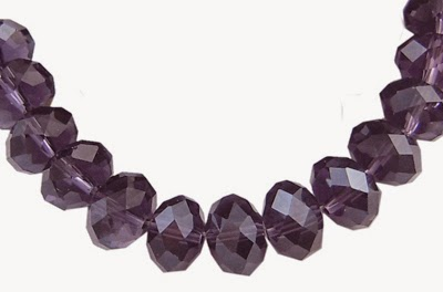 cz amethyst abacus beads wholesale