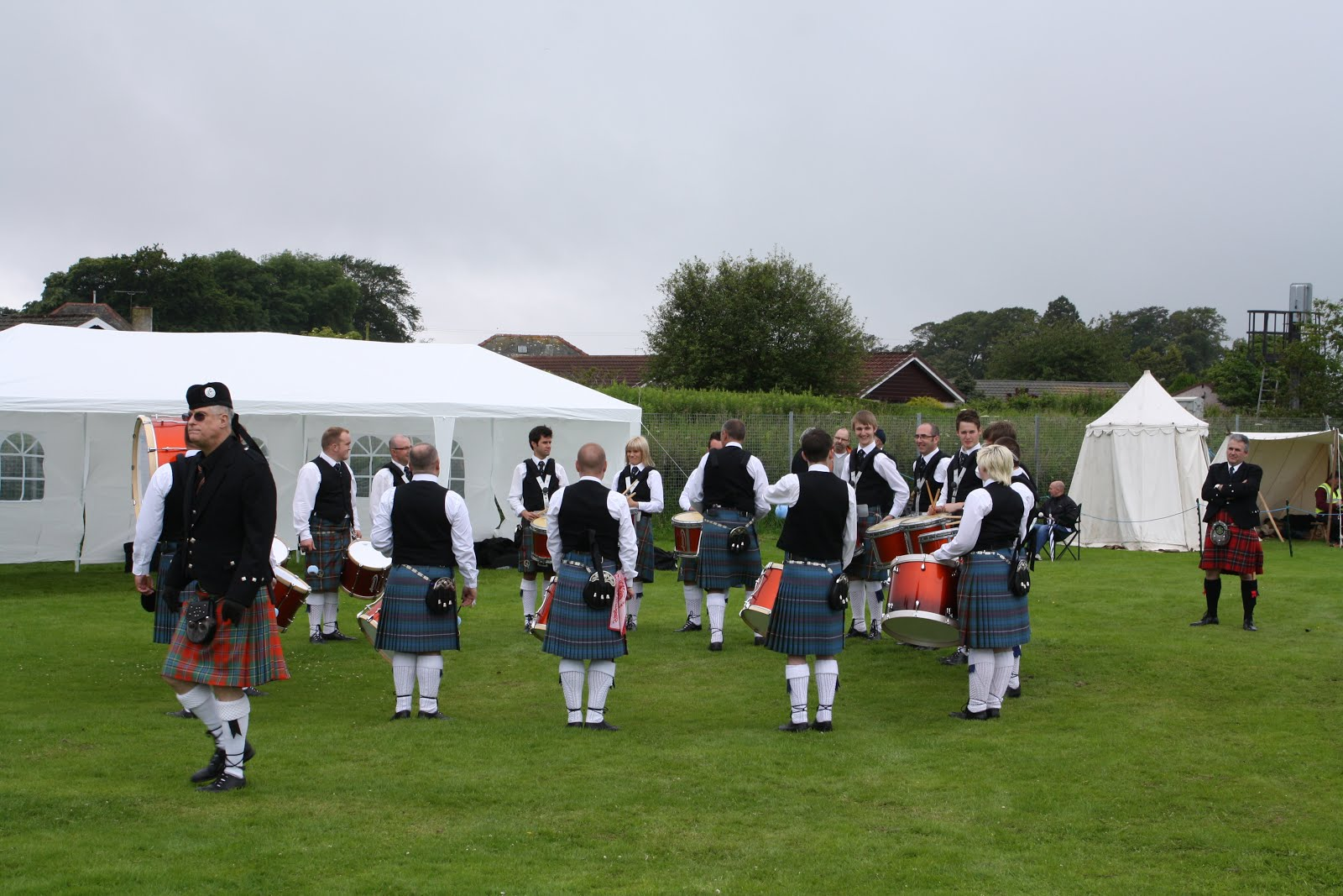 Pipe Band Comp. Annan, Scotland