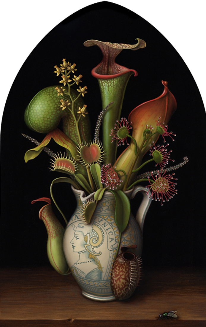 Madeline Von Foerster 1973 | American Fantastic Surrealist painter