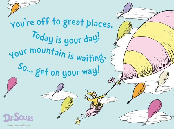 Dr Seuss Quotes You Go Places. QuotesGram