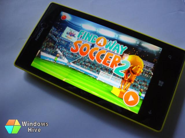 Find A Way Soccer 2, Windows phone
