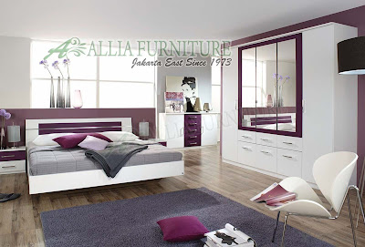 furniture kamar set model minimalis