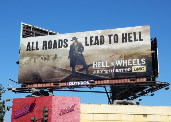 Hell on Wheels season 5 billboard