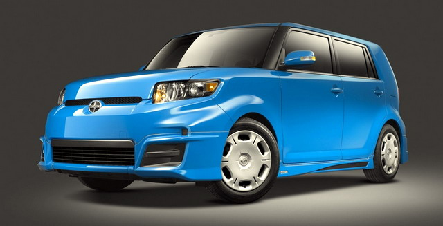 New Cars Scion Xb With Box Shaped
