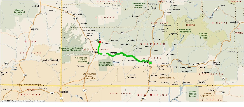 Roving Reports By Doug P 2015 14 Durango To Dolores Colorado