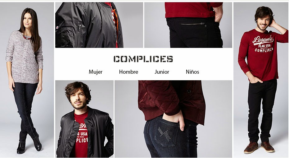 Portada de la oferta de ropa casual de la marca Cómplices en noviembre
