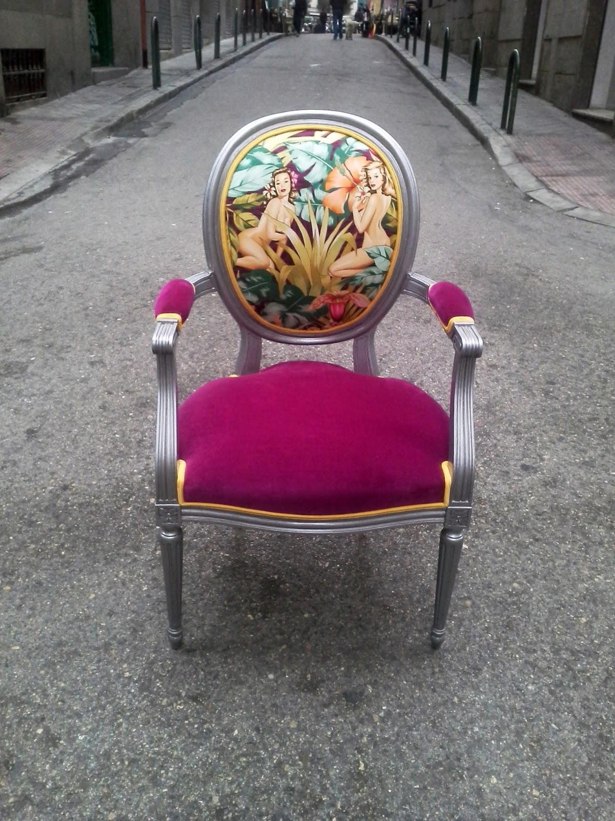 Butaca la tapicera p gina 3 - Materiales para tapizar una silla ...