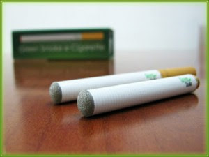 Electronic cigarette replacement tips