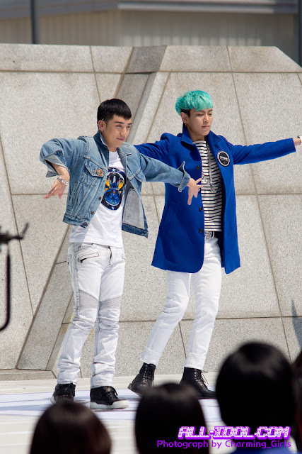 Big Bang at Gwanghamun