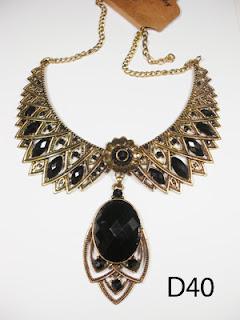 kalung aksesoris wanita d40