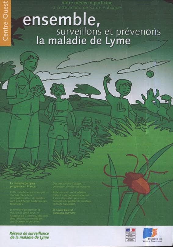prévention maladie de Lyme Technique: numérique