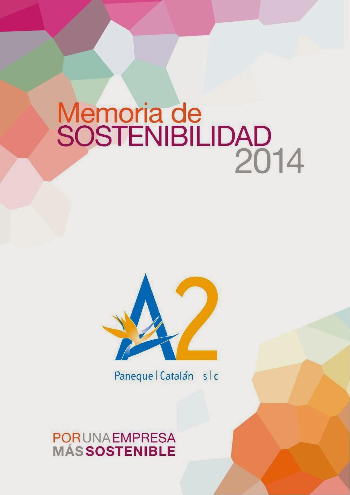 Memoria de Sostenibilidad 2014