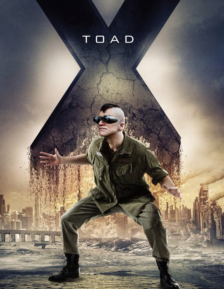 X-men days of future past - toad