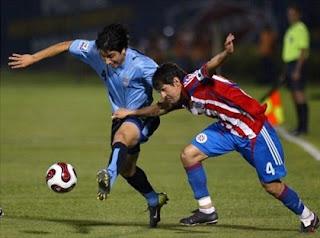 Estadísticas Uruguay V Paraguay América