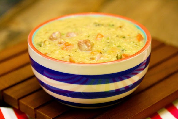 Ham-Quinoa-Soup