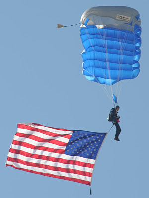 United States Air Force Academy Wings of Blue Parachute Team