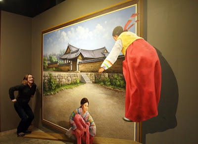 Optical Illusion Tricks At Korean Art Galleries