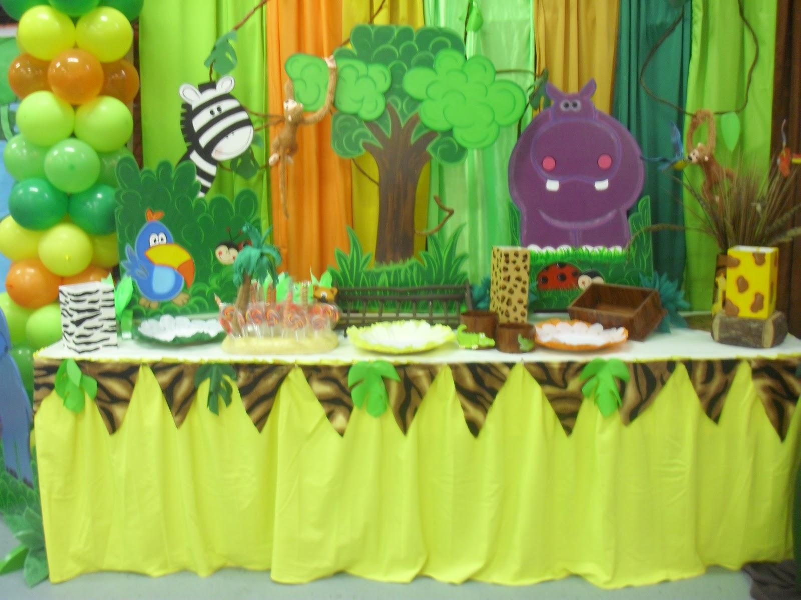 Ursula newman eventos fiesta infantil safari - Decoracion fiesta cumpleanos infantil ...