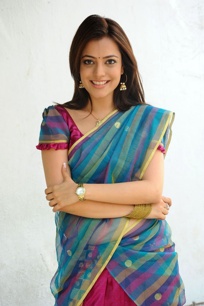 Actress Kajal Agarwal Sister Nisha Agarwal Hot And Cute Sexy Navel HD Images Smiling Sexy