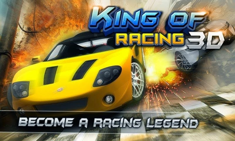 KING OF RACING 3D v1.3 APK+DATA [Unlimited Money/Stars]